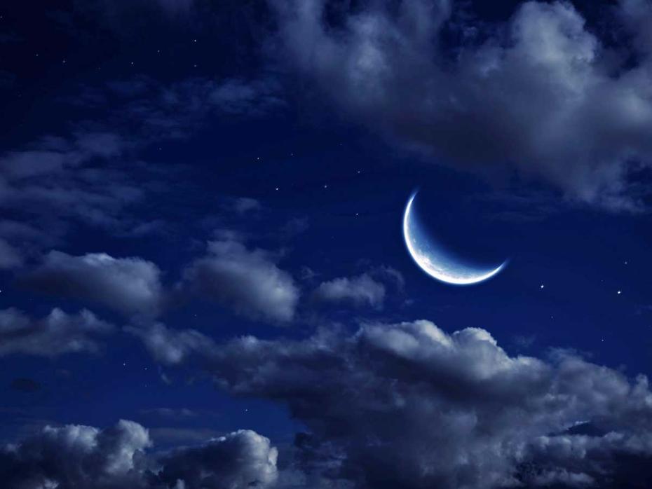 фото луна стар